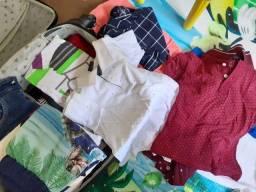 Lote roupas menino 4 anos