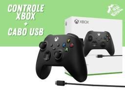 Controle Xbox Series X|S + Cabo de 2,7m | Lacrado com garantia!