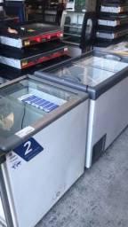 Título do anúncio: V- Freezer com tampa de vidro vários tamanhos