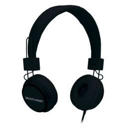 Fone De Ouvido Multilaser Com Microfone Headfun Preto P2 ? PH115