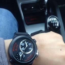 Relógio Dual Analógico