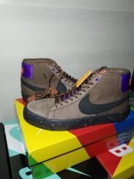 Nike sb zoom blazer mid pro gt trails end brown