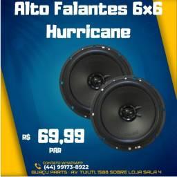 Alto Falantes 6x6 Hurricane 100w PAR