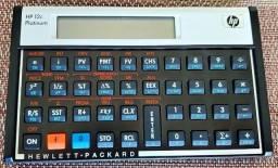 Calculadora Financeira HP12c Platinum - Usada
