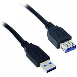 Cabo extensor USB (fêmea x macho) 1.8m