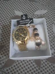 Título do anúncio: Kit relógio feminino