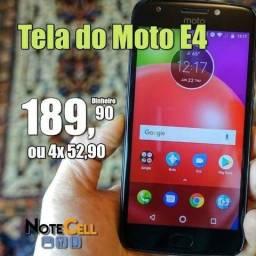 Tela / Display Moto E4 - XT1762 -Instalação em 30 Minutos!
