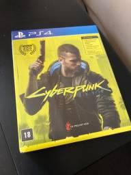 Vendo/Troco Cyberpunk 2077 - PS4 - Lacrado!