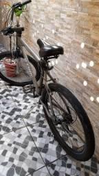 Bike alumínio - vendo ou troco em celular