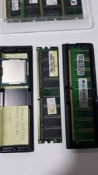 Peças computador (Memórias - Cooler - Modem) - Pacotão tudo por 110