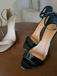 Sandália Gisele tamanho 38 - dois pares