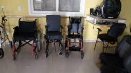 Cadeiras de rodas temos material ortopédico