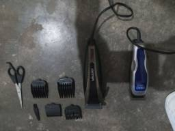 Kit completo máquina de corta cabelo