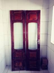 Porta madeira pesada madeira maciça