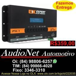 Crossover Processador Equalizador Banda Expert Px1 Trio Px-1 Automotivo Carro Som Potencia