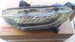 Farol Esquerdo Led Honda Civic 2017 A 2020 - 33150tekm11