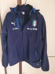 Agasalho Italia exclusivo para jogador oficial puma