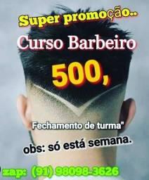 Título do anúncio: Estamos com matrículas abertas formando turma pro curso de barbeiro e cabeleireiro