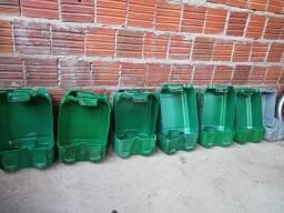 Caixote feito de balde de 20 litros