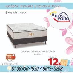 Unibox Double Reconflex Casal - */ * Frete Grátis