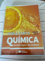 Título do anúncio: Livro de química Tito & Canto na abordagem do cotidiano (Editora Saraiva)