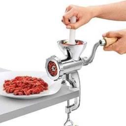 Título do anúncio: Moedor De Carne Manual Tamanho Boca 10 Cm Mincer - Meat Mincer<br>
