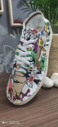 Alpargata Soft Sneaker Tênis Havaianas - Feminino desenho Looney Tunes