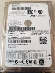 Hd 160 gb Fujitsu  5400 rpm para notebook