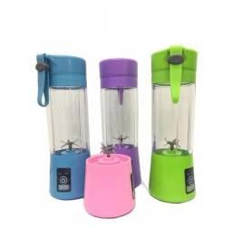 Mini Liquidificador Portátil Usb Juice Cap Shake 6 Lâminas