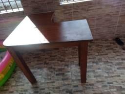 Mesa em L para computador/estudo/trabalho