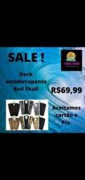 Título do anúncio: Deck antiderrapante Red  Skull