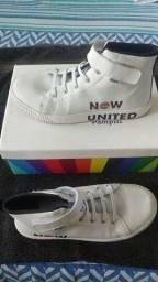 Tênis Infantil Now United  Branco