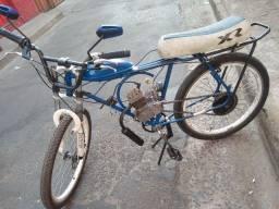 Bicicleta motorizada 80cc olhe as fotos