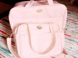 Título do anúncio: Mala e bolsa tiracolo para saída maternidade