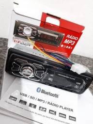 Auto rádio Usb com Controle + Chicote Novo!