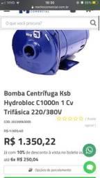 Bomba água Centrífuga KSB