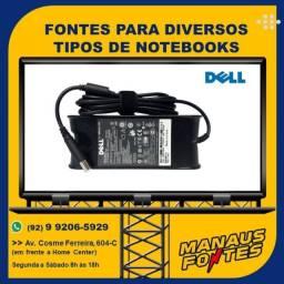 Carregador do Notebook Dell Ponta Grossa com Garantia