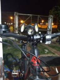 Lanterna Dianterira para Bicicleta ( Super Forte ) Novo!