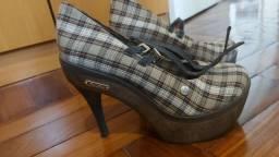 Sapato Barth plataforma