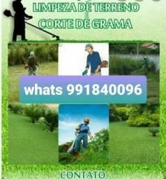 Precisando limpar seu jardim roçar grama  fazemos orcamento sem compromisso