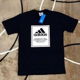 Camiseta Adidas Azul Marinho