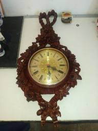 Relógio madeira