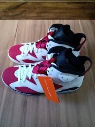 Tênis Nike air Jordan 6 Carmaine original