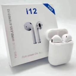 Título do anúncio: Fone Bluetooth sem fio i12 TWS