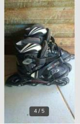 Três patins barato R$ 250,00