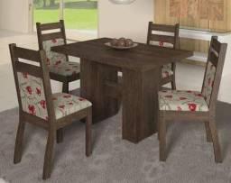 Super Oferta - Mesa de jantar Urca com 04 cadeiras - R$569,00