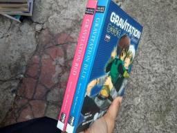 Vendo 2 mangás novel volumes únicos Gravitation Red e Blue