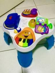 Mesinha para bebê e criança brinquedo