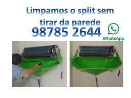 Ar condicionado instalação manutenção limpeza