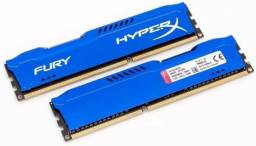 Memória DDR3 8gb Kingston Hyper Fury